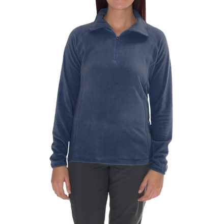 Columbia Sportswear Glacial Fleece III Jacket - Long Sleeve (For Plus Size Women) in Nocturnal - Closeouts