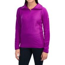 Columbia Sportswear Glacial Fleece III Print Jacket - Zip Neck (For Women) in Bright Plum Emboss - Closeouts