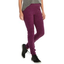 Columbia Sportswear Glacial Fleece Leggings (For Women) in Purple Dahlia Spacedye - Closeouts