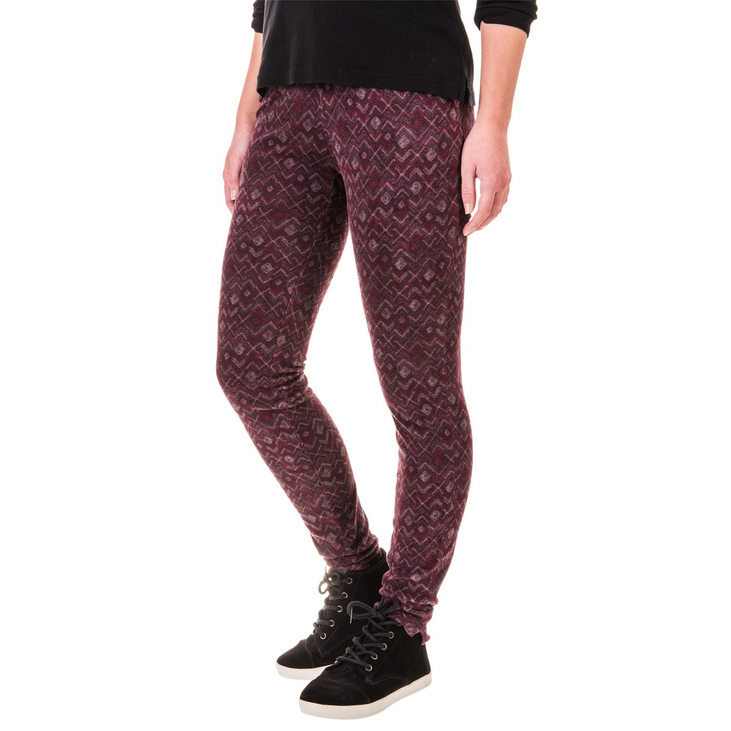 columbia sportswear glacial fleece printed leggings for