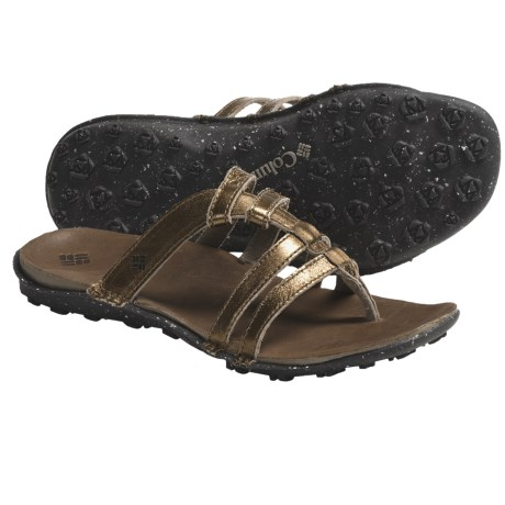 Columbia Sportswear Gladiorla Sandals - Leather (For Women) in Sepia