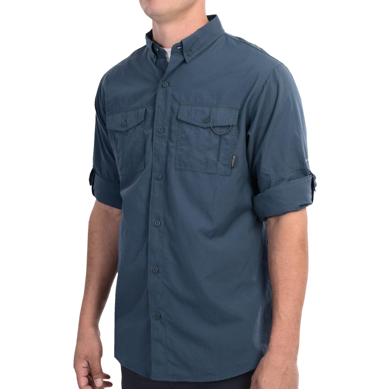 Columbia sportswear glen meadows omni shade shirt upf for Men s upf long sleeve shirt