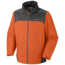 Columbia Sportswear Glennaker Lake Omni-Shield® Rain Jacket (For Big and Tall Men) in Backcountry Orange - Closeouts