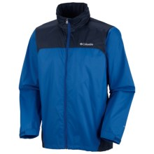 Columbia Sportswear Glennaker Lake Omni-Shield® Rain Jacket (For Big and Tall Men) in Windswept/Abyss - Closeouts