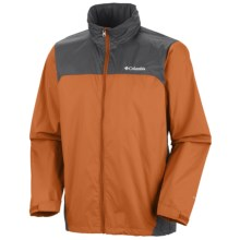 Columbia Sportswear Glennaker Lake Omni-Shield® Rain Jacket (For Men) in Persimmon/Grill - Closeouts