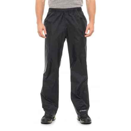 Columbia Sportswear Glennaker Lake Rain Pants - Waterproof (For Big and Tall Men) in Black