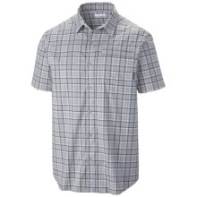 Columbia Sportswear Global Adventure II Yarn Dye Omni-Wick® Shirt - UPF 30, Short Sleeve (For Men) in Columbia Grey - Closeouts
