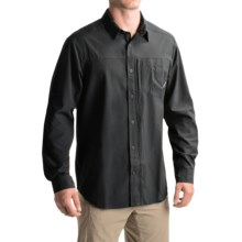 Columbia Sportswear Global Adventure III Shirt - Omni-Wick®, Long Sleeve (For Men) in Black - Closeouts