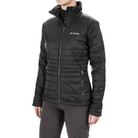 Columbia Sportswear Go To Omni-Heat® Jacket - Insulated (For Women) in Black - Closeouts