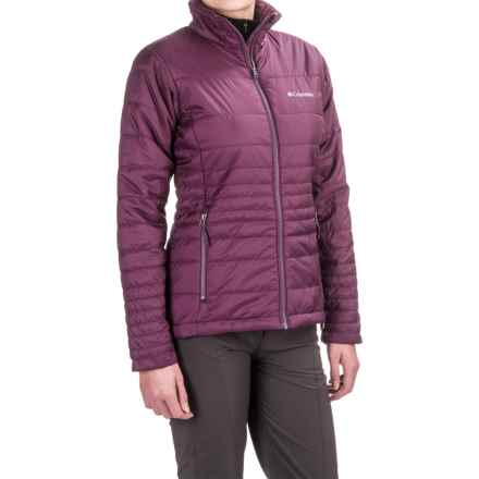 Columbia Sportswear Go To Omni-Heat® Jacket - Insulated (For Women) in Purple Dahlia/Dusty Purple - Closeouts