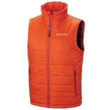 Columbia Sportswear Go To Omni-Heat® Vest - Insulated (For Men) in Back Country Orange - Closeouts