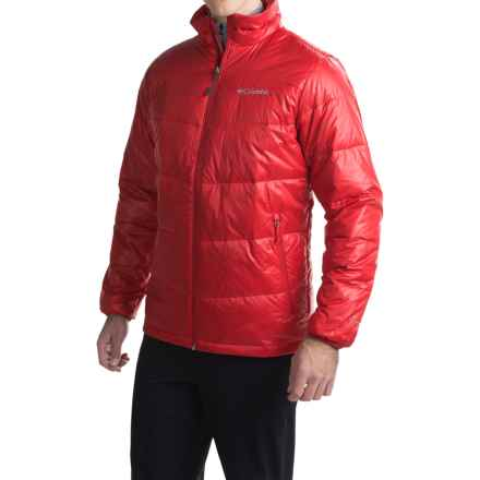 Columbia Sportswear Gold 650 TurboDown® Omni-Heat® Jacket - 550 Fill Power (For Men) in Rocket - Closeouts
