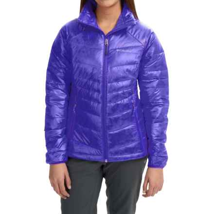 Columbia Sportswear Gold 650 TurboDown® Omni-Heat® Jacket - 550 Fill Power (For Women) in Light Grape - Closeouts