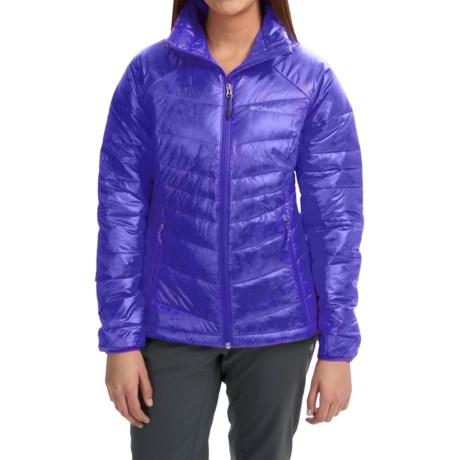 Columbia Sportswear Gold 650 TurboDown® Omni-Heat® Jacket - 550 Fill Power (For Women) in Light Grape