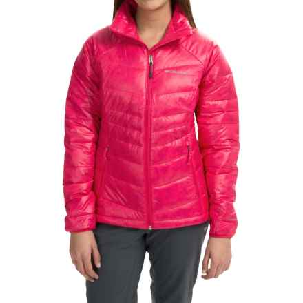 Columbia Sportswear Gold 650 TurboDown® Omni-Heat® Jacket - 550 Fill Power (For Women) in Ruby Red - Closeouts