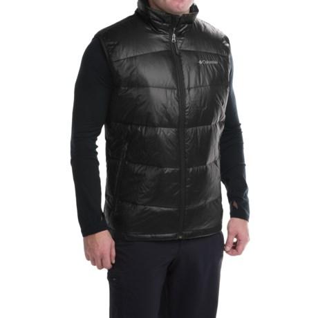 Columbia Sportswear Gold 650 TurboDown® Omni-Heat® Vest - 550 Fill Power (For Men) in Black