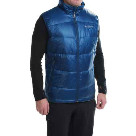 Columbia Sportswear Gold 650 TurboDown® Omni-Heat® Vest - 550 Fill Power (For Men) in Marine Blue - Closeouts