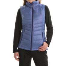 Columbia Sportswear Gold 650 TurboDown Vest - 550 Fill Power (For Women) in Bluebell - Closeouts