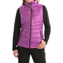 Columbia Sportswear Gold 650 TurboDown Vest - 550 Fill Power (For Women) in Bright Plum/Purple Dahlia - Closeouts