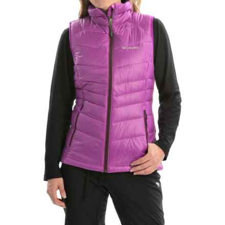 Columbia Sportswear Gold 650 TurboDown® Vest - 550 Fill Power (For Women) in Bright Plum/Purple Dahlia - Closeouts