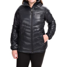 Columbia Sportswear Gold Omni-Heat® 650 TurboDown Jacket - 550 Fill Power (For Plus Size Women) in Black - Closeouts