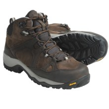 Columbia Sportswear Gorge Mid Hiking Boots - Waterproof (For Men) in Cordovan/Burnt Orange - Closeouts