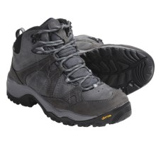 Columbia Sportswear Gorgeous Omni-Tech® Mid Hiking Boots - Waterproof (For Women) in Grill/Hydrangea - Closeouts