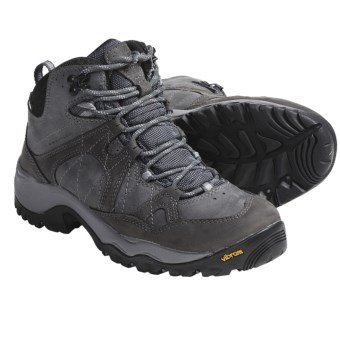 Columbia Sportswear Gorgeous Omni-Tech® Mid Hiking Boots - Waterproof (For Women) in Grill/Hydrangea