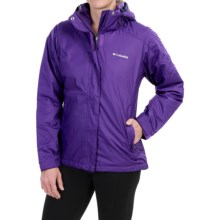 Columbia Sportswear Gotcha Groovin' Jacket - Insulated (For Women) in Hyper Purple/Hyper Purple - Closeouts