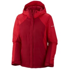 Columbia Sportswear Gotcha Groovin' Jacket - Insulated (For Women) in Red Velvet - Closeouts