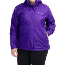 Columbia Sportswear Gotcha Groovin Jacket - Insulated (For Plus Size Women) in Hyper Purple/Hyper Purple - Closeouts