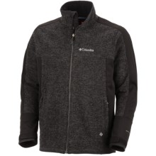 Columbia Sportswear Grade Max Omni-Heat® Jacket - Windproof (For Men) in Black - Closeouts