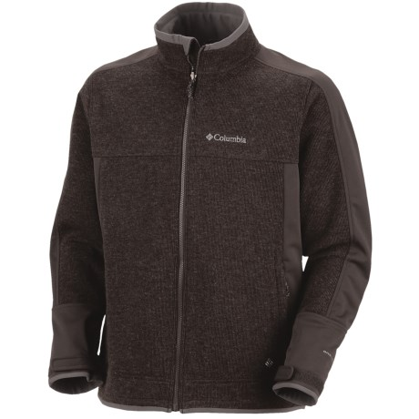 photo: Columbia Grade Max Hoodie wool jacket