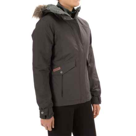 Columbia Sportswear Grandeur Peak Jacket - Insulated (For Women) in Mineshaft - Closeouts
