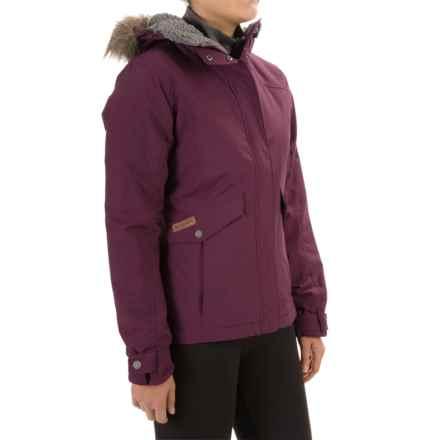 Columbia Sportswear Grandeur Peak Jacket - Insulated (For Women) in Purple Dahlia - Closeouts