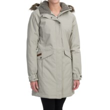 Columbia Sportswear Grandeur Peak Jacket - Insulated, Long (For Women) in Flint Grey - Closeouts