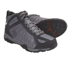 Columbia Sportswear Granite Pass OutDry® Mid Hiking Boots - Waterproof (For Men) in Boulder/Cayenne - Closeouts