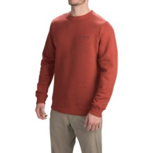Columbia Sportswear Great Hart Mountain II Crew Sweatshirt (For Men) in Flame Heather - Closeouts