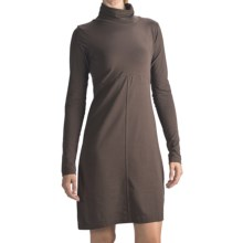 Columbia Sportswear Greenway T Dress - Stretch Cotton, Long Sleeve (For Women) in Red Mahogany - Closeouts