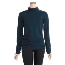 Columbia Sportswear Greenway T IV Turtleneck - Stretch Cotton, Long Sleeve (For Women) in Deep Teal - Closeouts