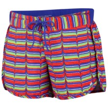 Columbia Sportswear Groovy Creek Shorts - UPF 50 (For Women) in Aristocrat Whale Tale - Closeouts