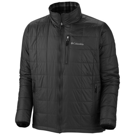 Columbia Sportswear Half Life Reversible II Jacket - Insulated (For Men) in Black