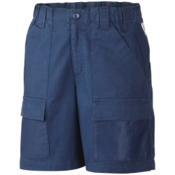Columbia Sportswear Half Moon PFG Shorts - UPF 15 (For Youth Boys) in Carbon