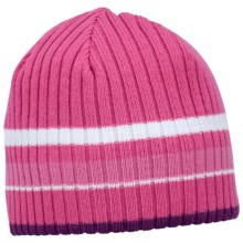 Columbia Sportswear Hampton Trail II Beanie Hat (For Kids) in Very Pink - Closeouts