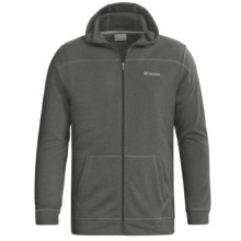 Columbia Sportswear Hard Edge Hoodie Sweatshirt - Fleece (For Men) in Grill Heather - Closeouts