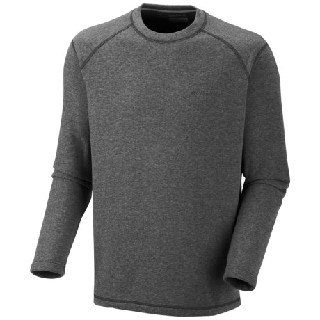 Columbia Sportswear Hard Edge Shirt - Long Sleeve (For Men) in Kettle Heather