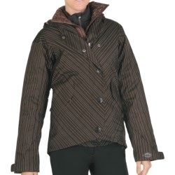 Columbia Sportswear Harlow Parka - Waterproof, Insulated, Removable Liner (For Women) in Bark