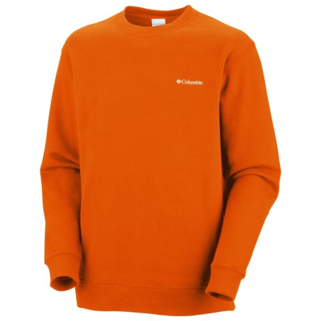 Columbia Sportswear Hart Mountain II Fleece Shirt - Long Sleeve (For Men) in Backcountry Orange