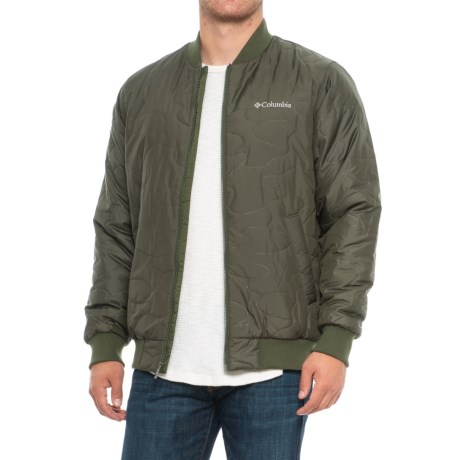 Columbia Sportswear Hawlings Hill Solid Bomber Men's Jacket (Insulated)