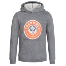 Columbia Sportswear Head Outdoors Hoodie (For Little and Big Boys) in Charcoal Heather - Closeouts
